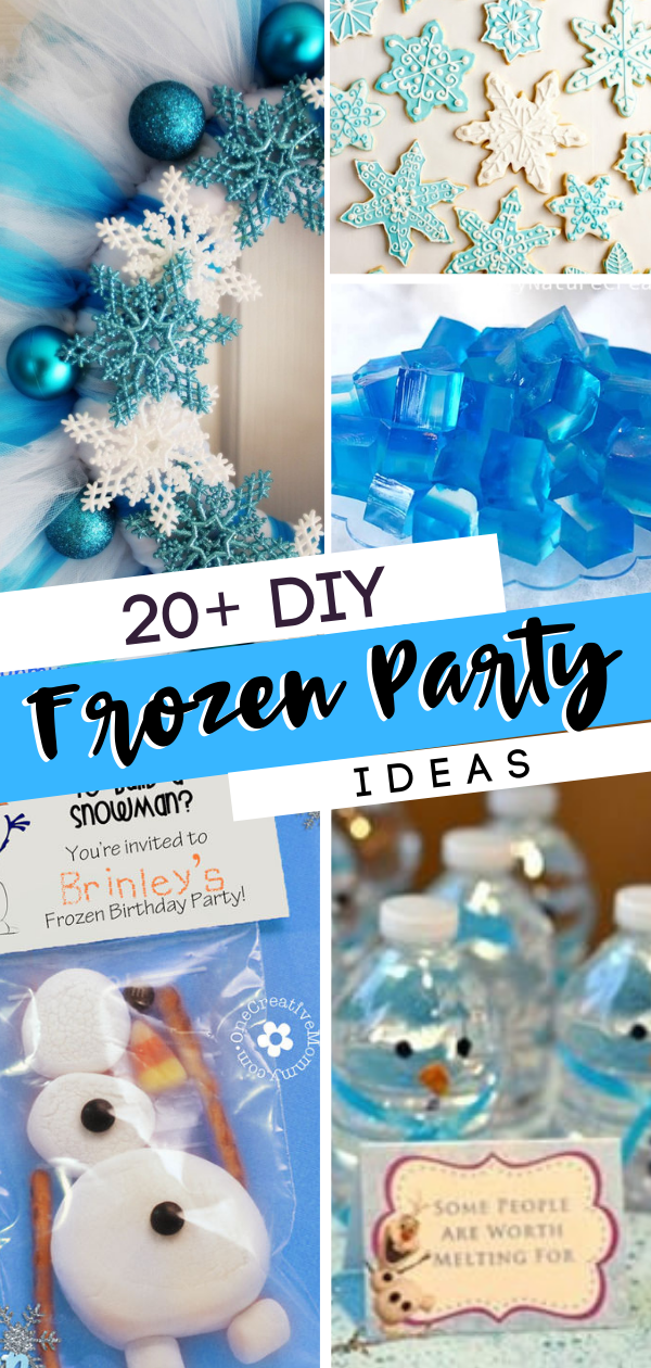 20 Diy Frozen Party Ideas Birthday Party Decorations Diy Frozen Birthday Party Decorations Frozen Themed Birthday Party