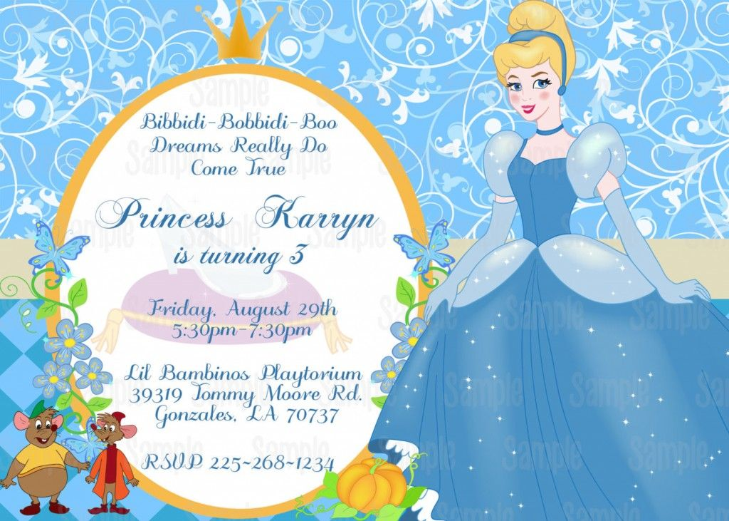 cinderella party invitation free printable | cinderella theme, Party invitations
