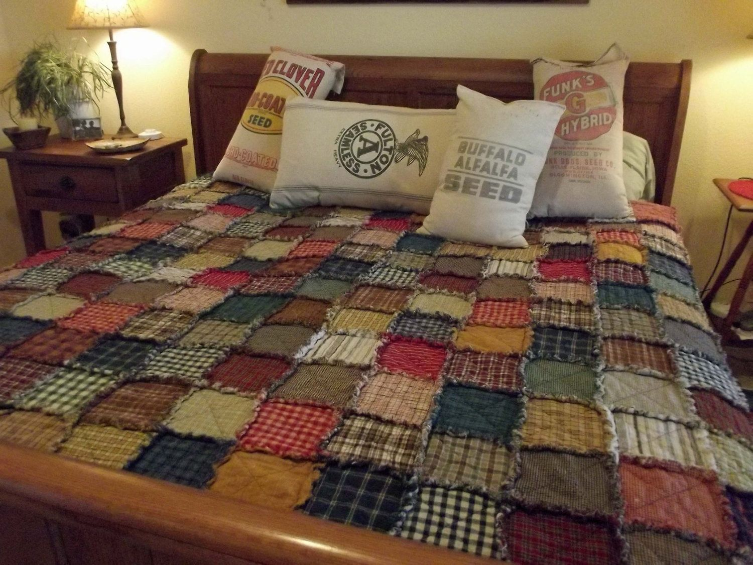 Popular items for patchwork quilt on Etsy 2015 - 2016 http ... : where to sell handmade quilts - Adamdwight.com