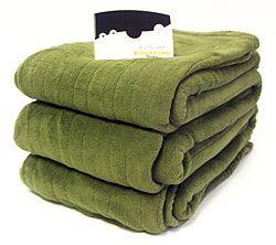 Plush Fleece Heated Electric Blanket Cozywinters Electric