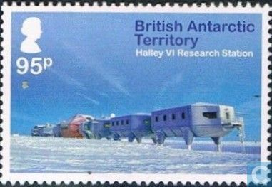 Postage Stamps - British Antarctic Territory - Halley VI Research Station