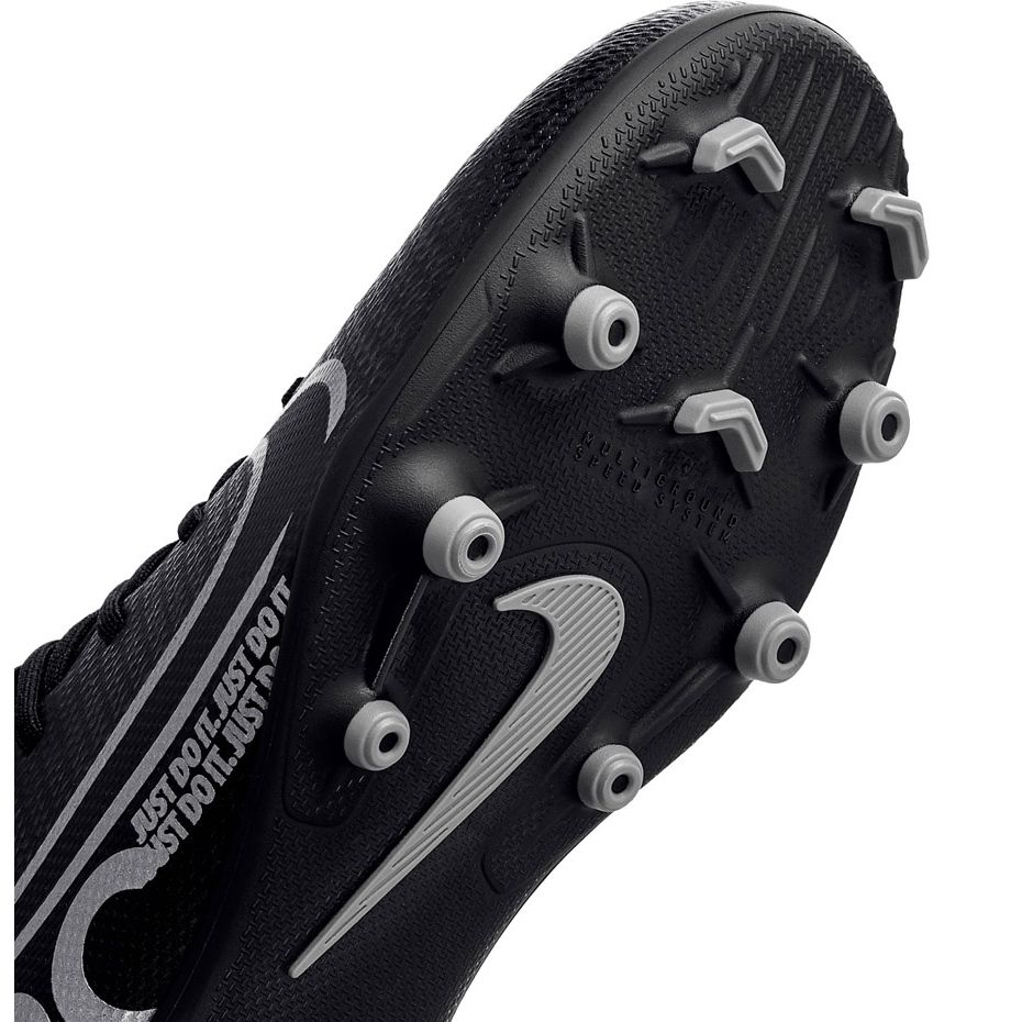 Buty Pilkarskie Nike Mercurial Superfly 7 Club Fg Mg Junior At8150 001 Czarne Rozowe Football Shoes Superfly Nike Shoes