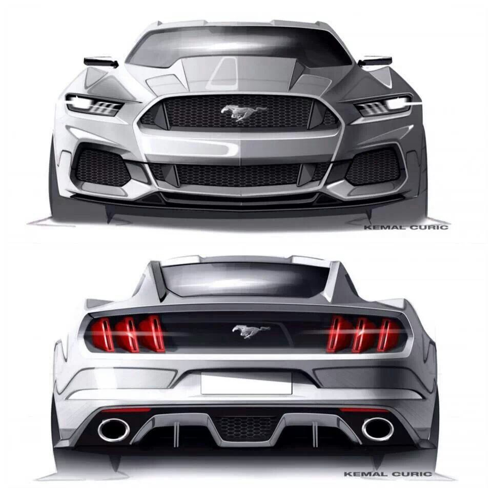 Mustang Concept... Wish the production model looked this bad ass. More · Mustang Cars2015 Ford ...  sc 1 st  Pinterest & Mustang Concept... Wish the production model looked this bad ass ... markmcfarlin.com