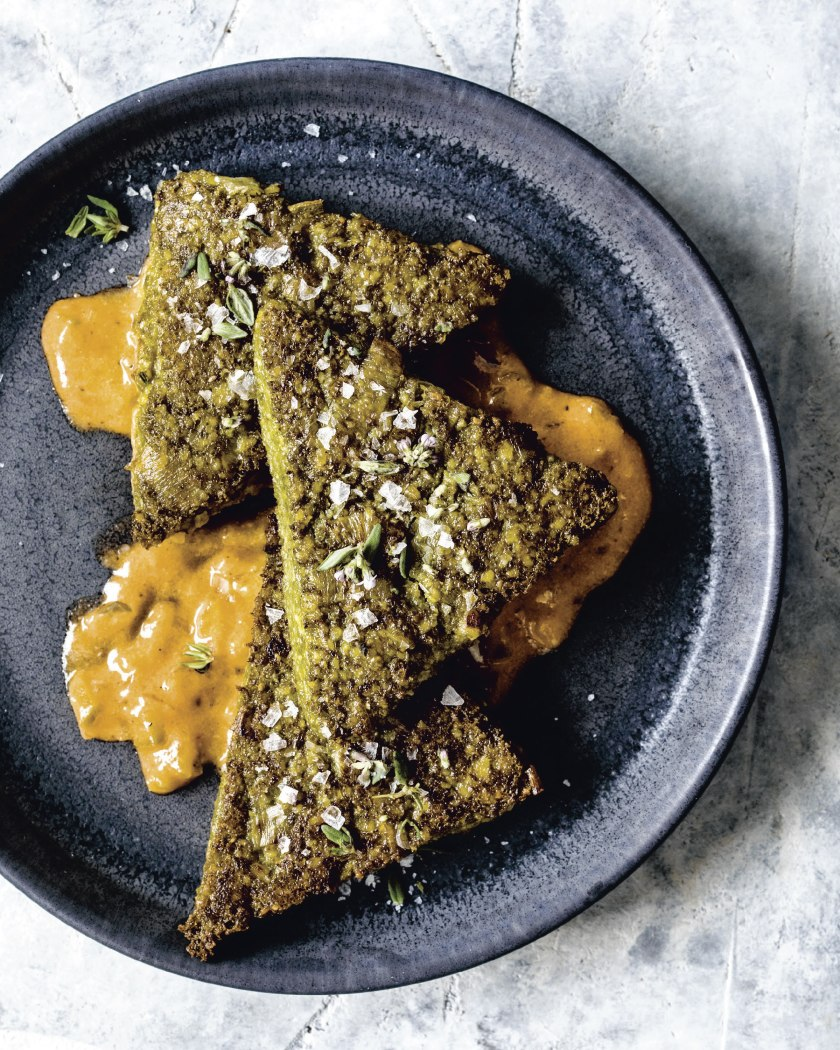 Creole spices add heat to this vegan spin on polenta in