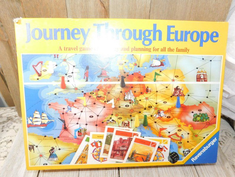 Journey through europe never played with game 1982