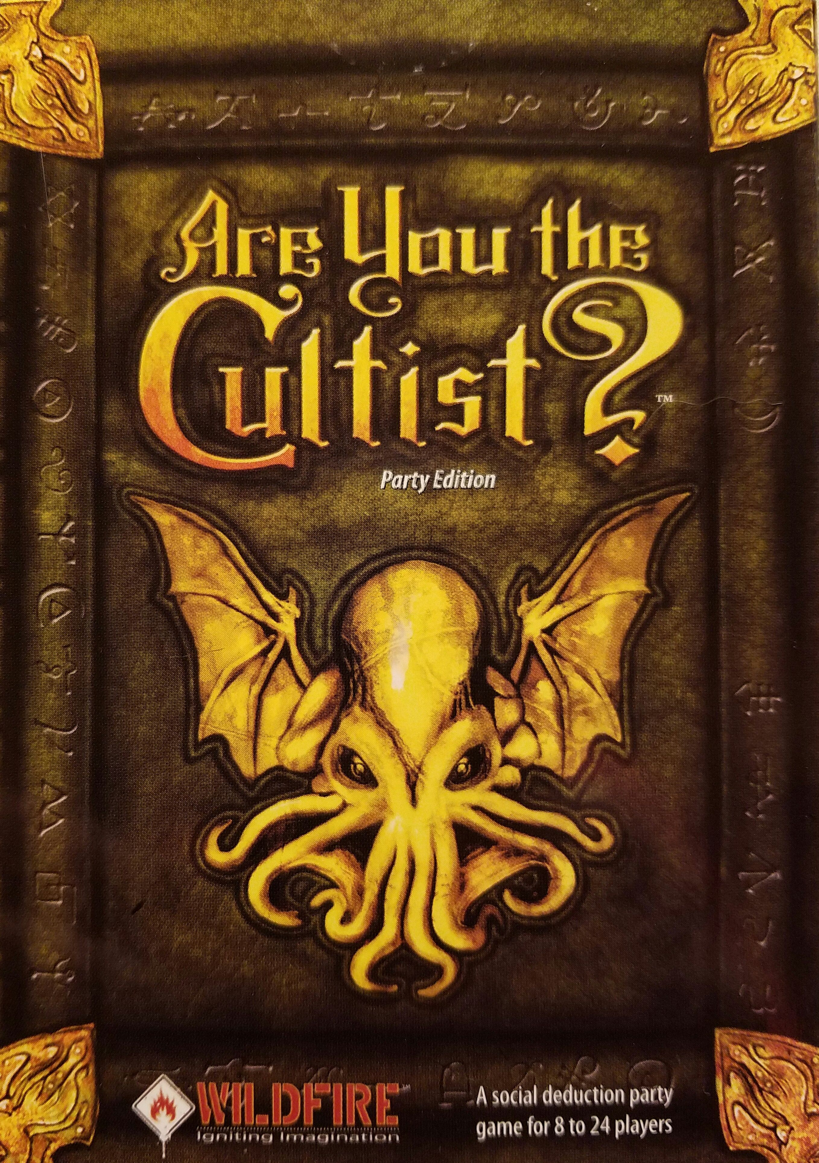 Are You the Cultist? Party Edition Board games, Games to