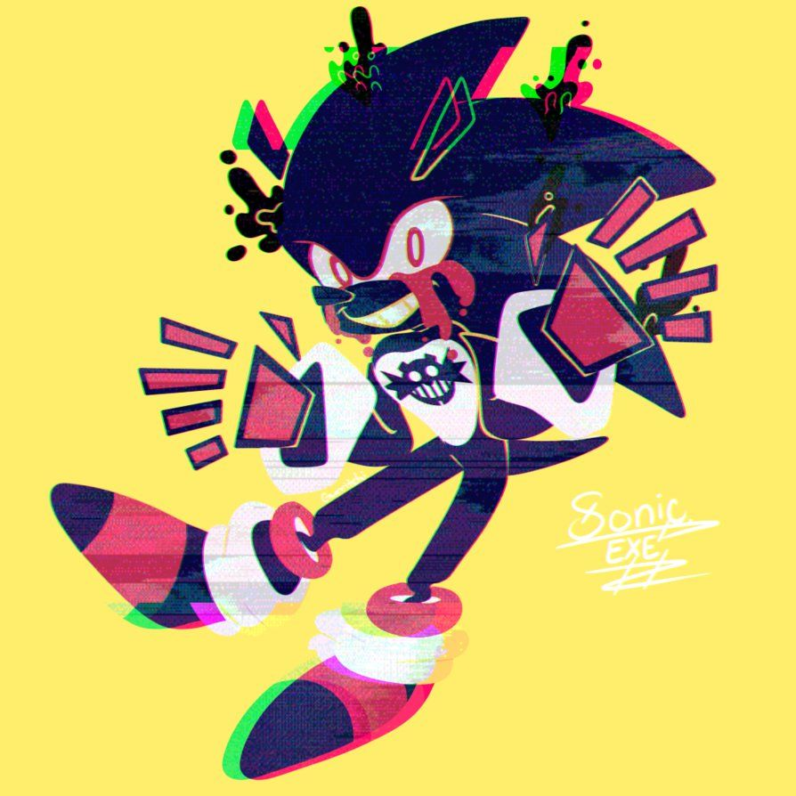 SONIC.EXE by gurritchi on DeviantArt