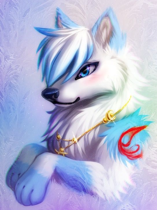 Photo of I love this furry wolf art! Thanks whoever made this. After all, it is my profil…