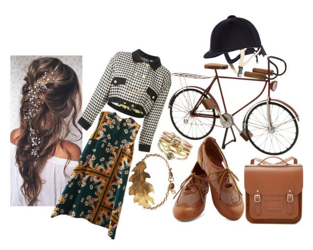 """Skylar day out"" by abbitsachan ❤ liked on Polyvore featuring Dot & Bo, The Cambridge Satchel Company, Chanel and Vintage"
