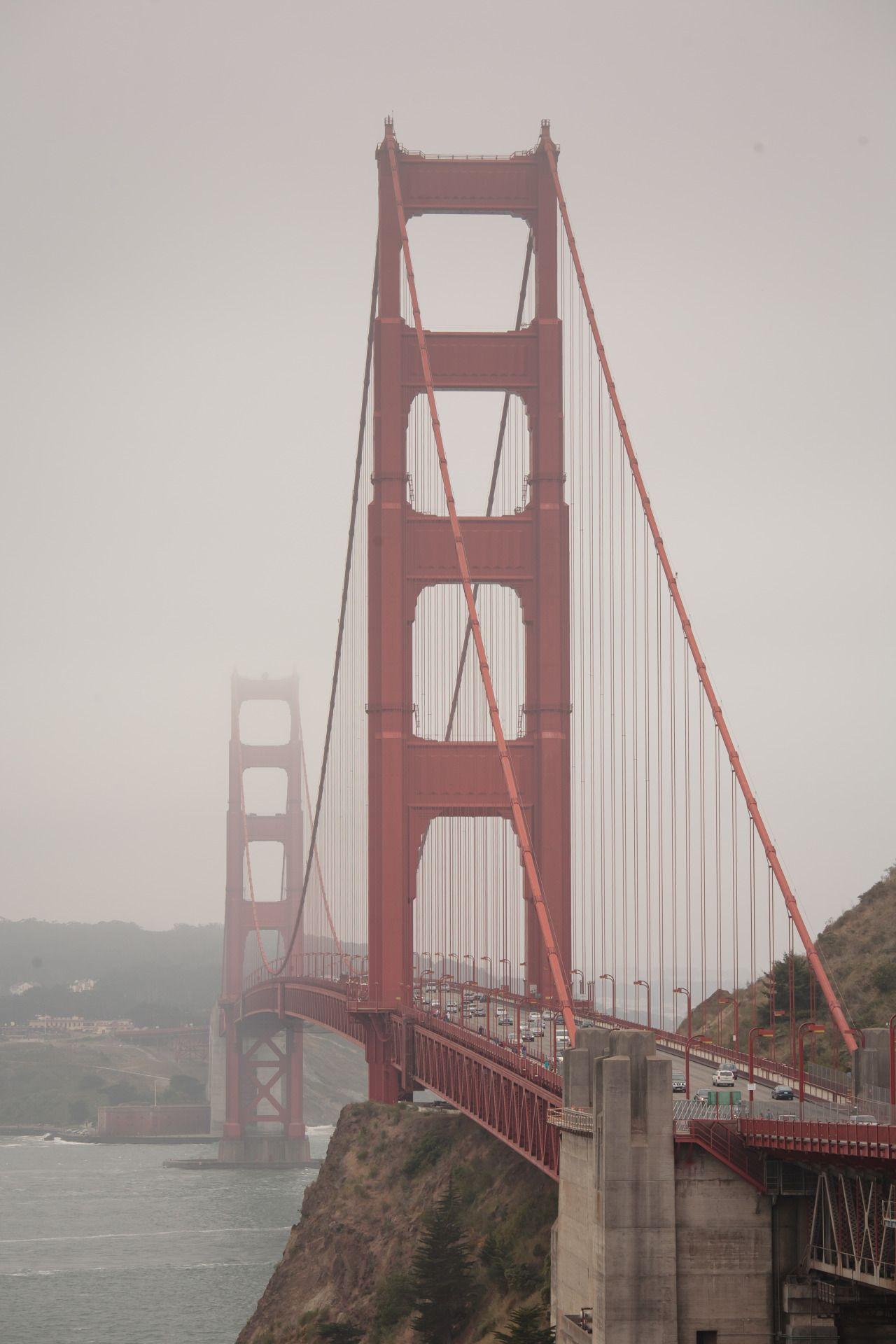 Golden Gate Bridge - San Francisco - California - USA (by Aurimas)