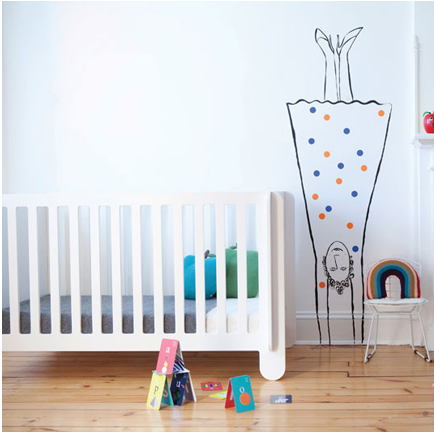 Coolest Kids' Furniture and Decor of 2013 Modern nursery