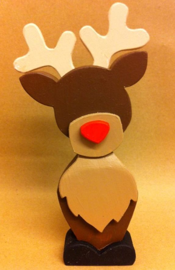 Simple Reindeer made from Pine and Plywood.