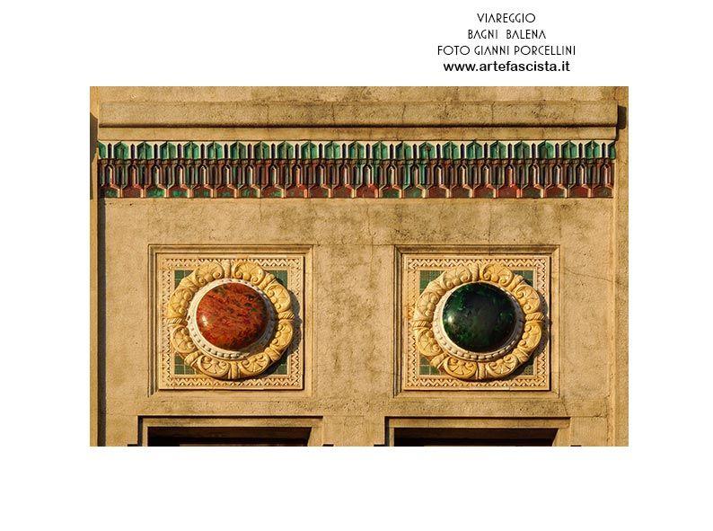 Viareggio Bagno Balena 1928 Arch Alfredo Belluomini