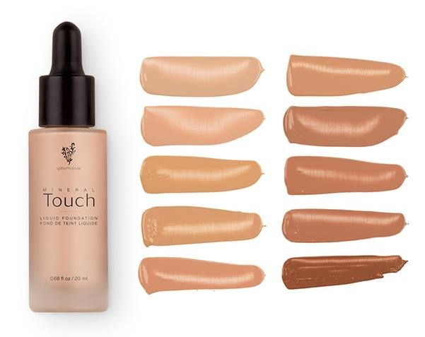 New Liquid Foundation From Younique 10 Great Colours To