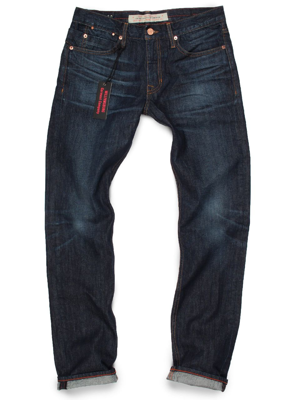 Williamsburg Garment Company, Inc - American Midnight Blue Dark ...