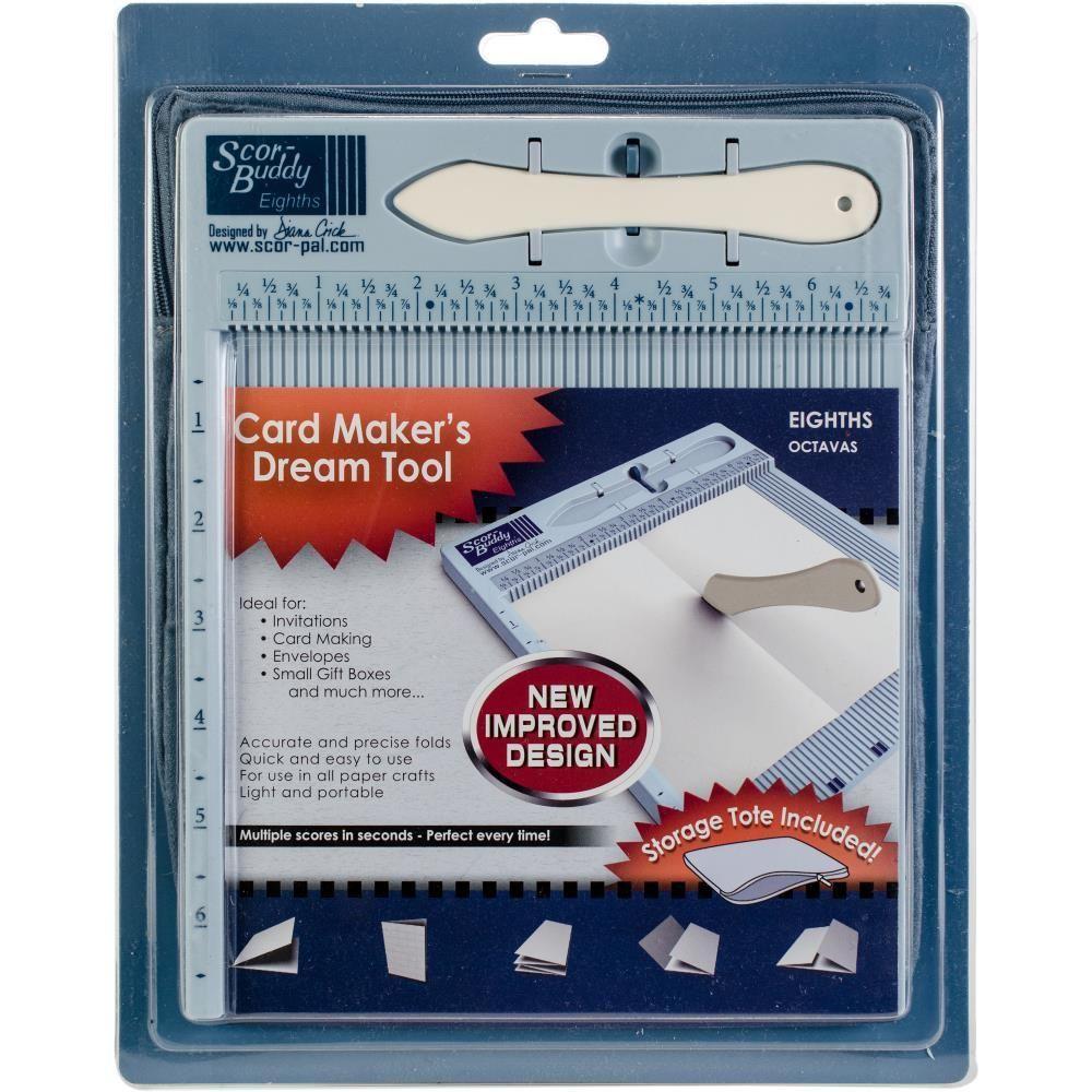 "ScorBuddy Eighths Mini Scoring Board 9 x 7.5"" Card"