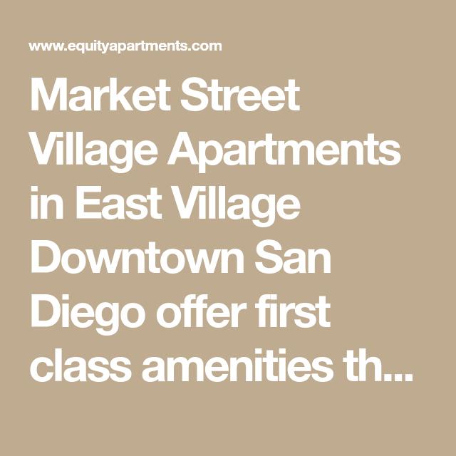 Market Street Village Apartments: Market Street Village Apartments