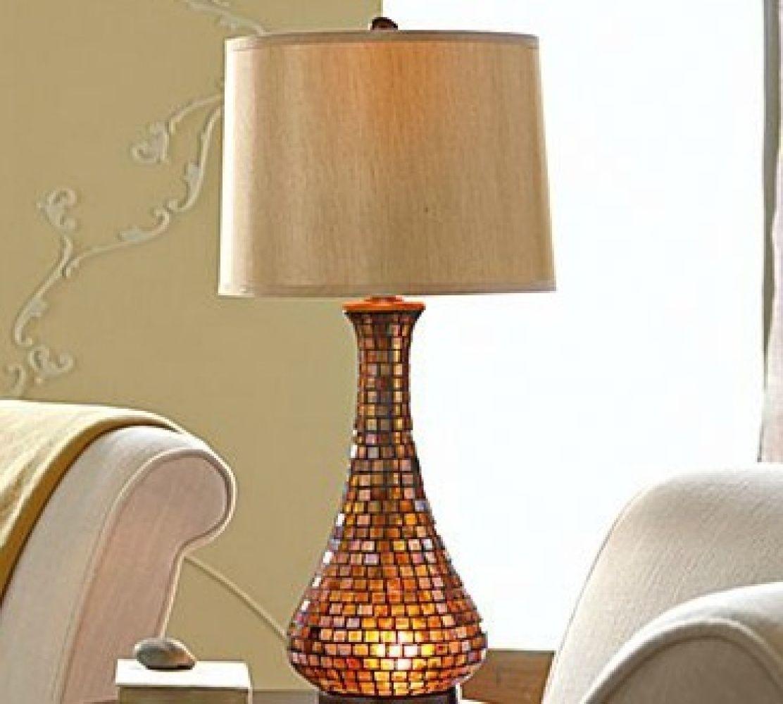 Chris Madden Amber Mosaic Table Lamp Chris Madden