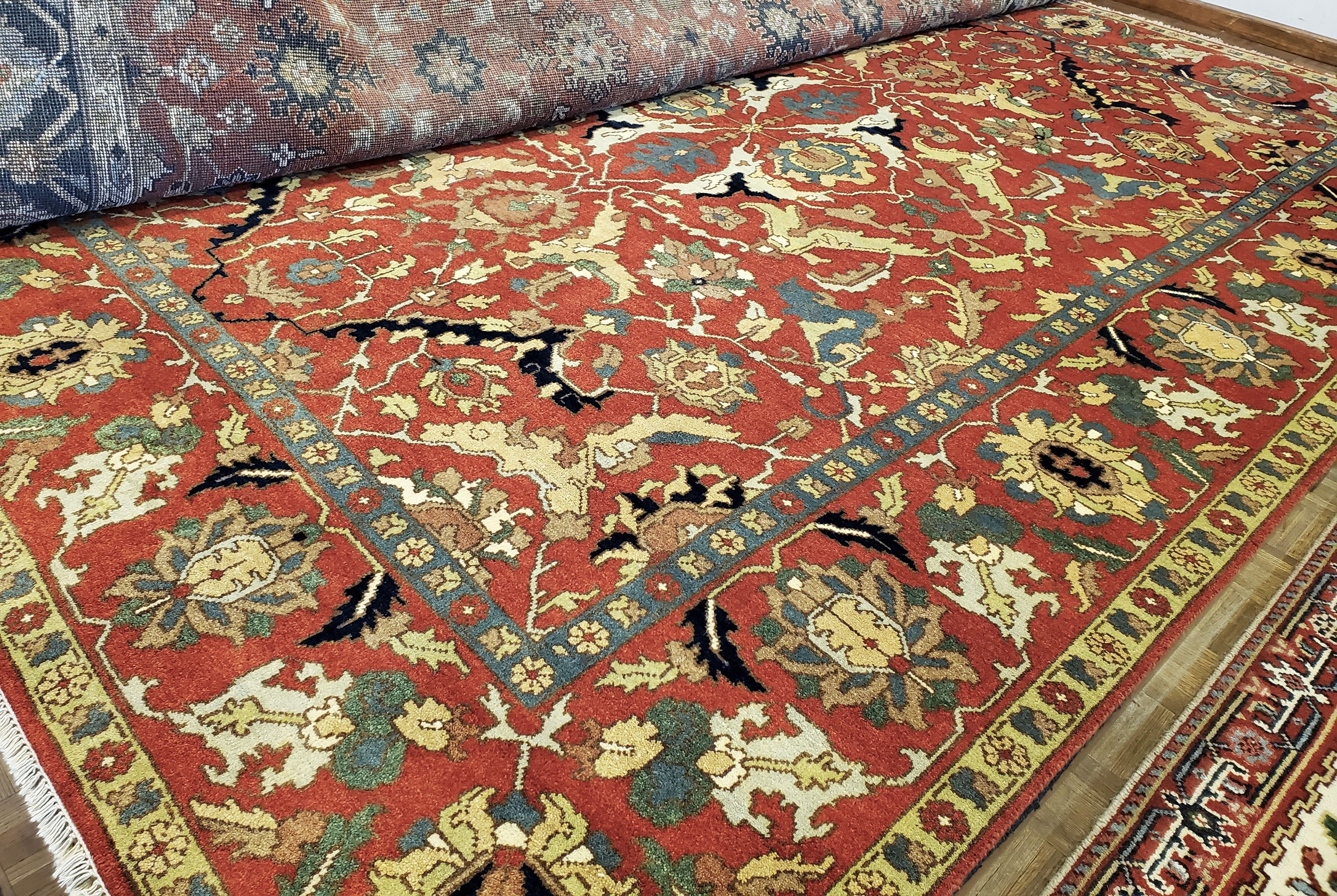 May Day Deal! 💃🏼 Vintage SERAPI Oriental Rug  9x12 $1975 reduce from $4950 Call 205-870-4444 or drop by if it's for you!  Please share!  #nilipourorientalrugs #MayDayDeal #familybusiness #since1972 #fullservice #shoplocal #happycustomer #artyoucantreadon #orientalrug #rug #arearug #naturalfibers #wholesaleprices #directimporting #affordableluxury #functionalrug #practicalrug #appeal #qualityrug #investment #conversationpiece #Lifestyle #rugcleaning #orientalrugcleaning #arearugcleaning