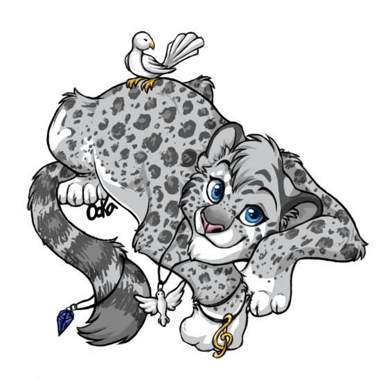 Anthro snow leopard male - photo#31