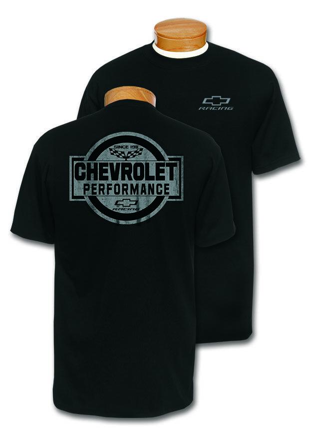 Chevrolet Racing Performance T Shirt Chevymall T Shirt Chevrolet