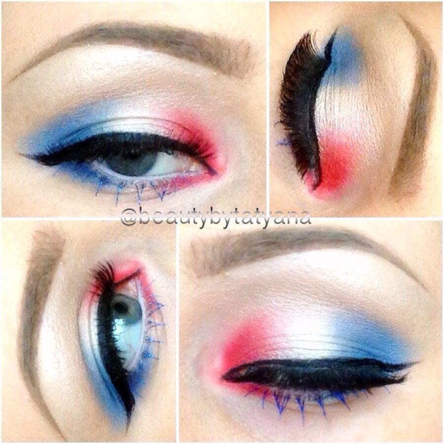 Independence Day Makeup 4th Of July Makeup Day Makeup Spirit Week Outfits