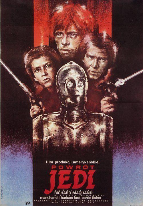 retro polish movie posters