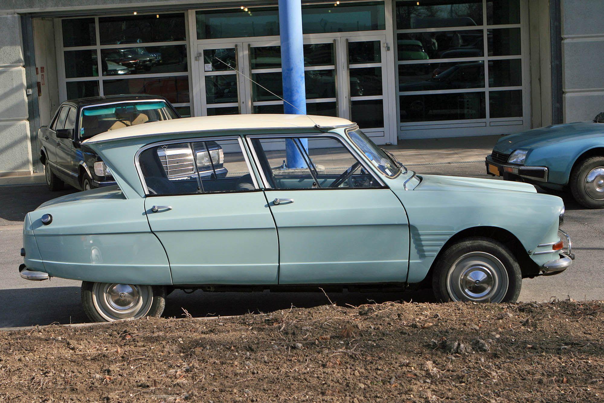 Description du véhicule Citroën Ami 6 – Encyclopédie automobile Encyclautomob…
