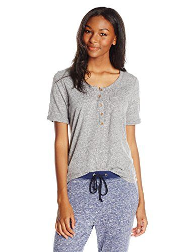 Roxy Juniors Point Sur Crew Neck T-Shirt
