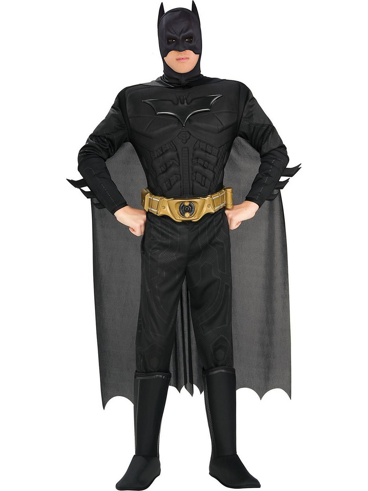 mens deluxe muscle dark knight batman costume see more costume ideas for halloween and more at costumesupercentercom