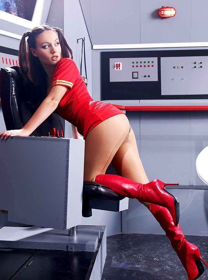 Porn trek busty star girls