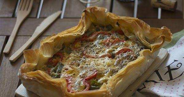 2Mandarinas en mi cocina: Pastel de verduras con pasta filo