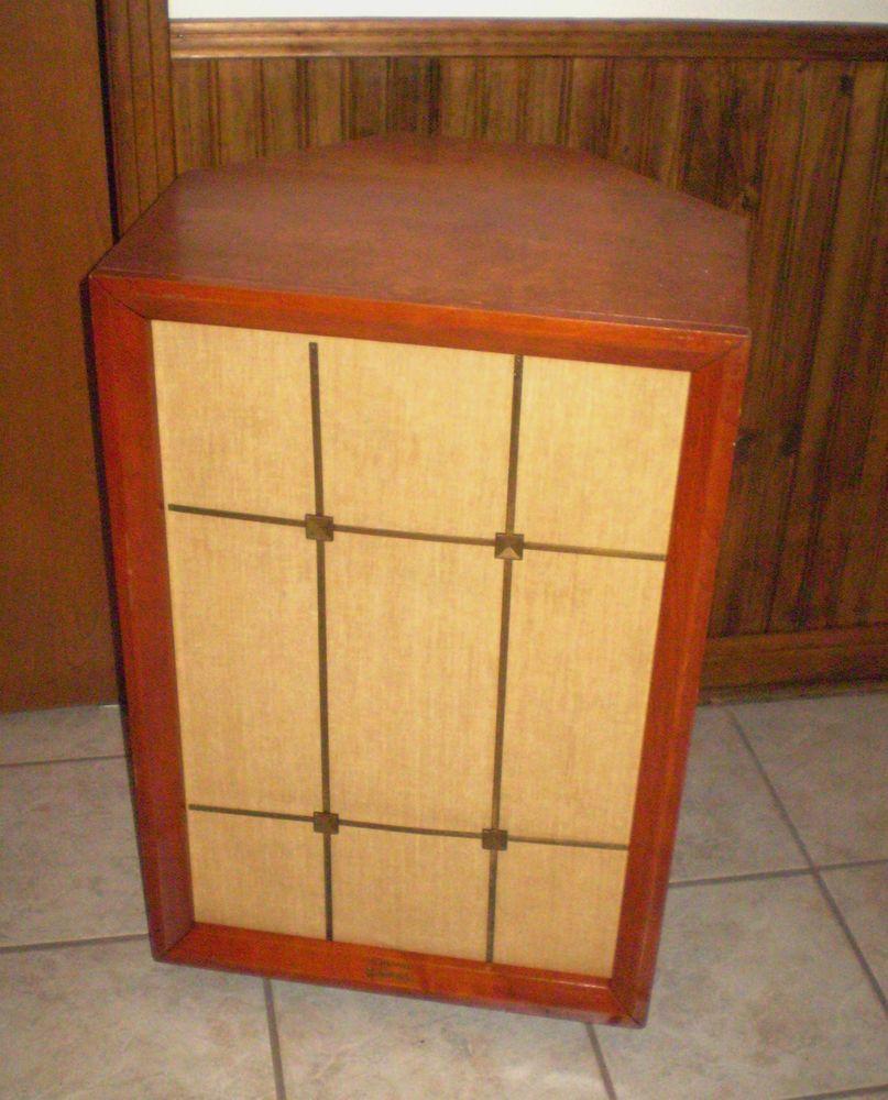Vintage Electro-Voice Aristocrat Speaker Cabinet only metal grill ...