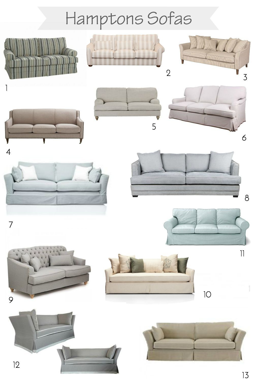 Searching For A Hamptons Sofa Little