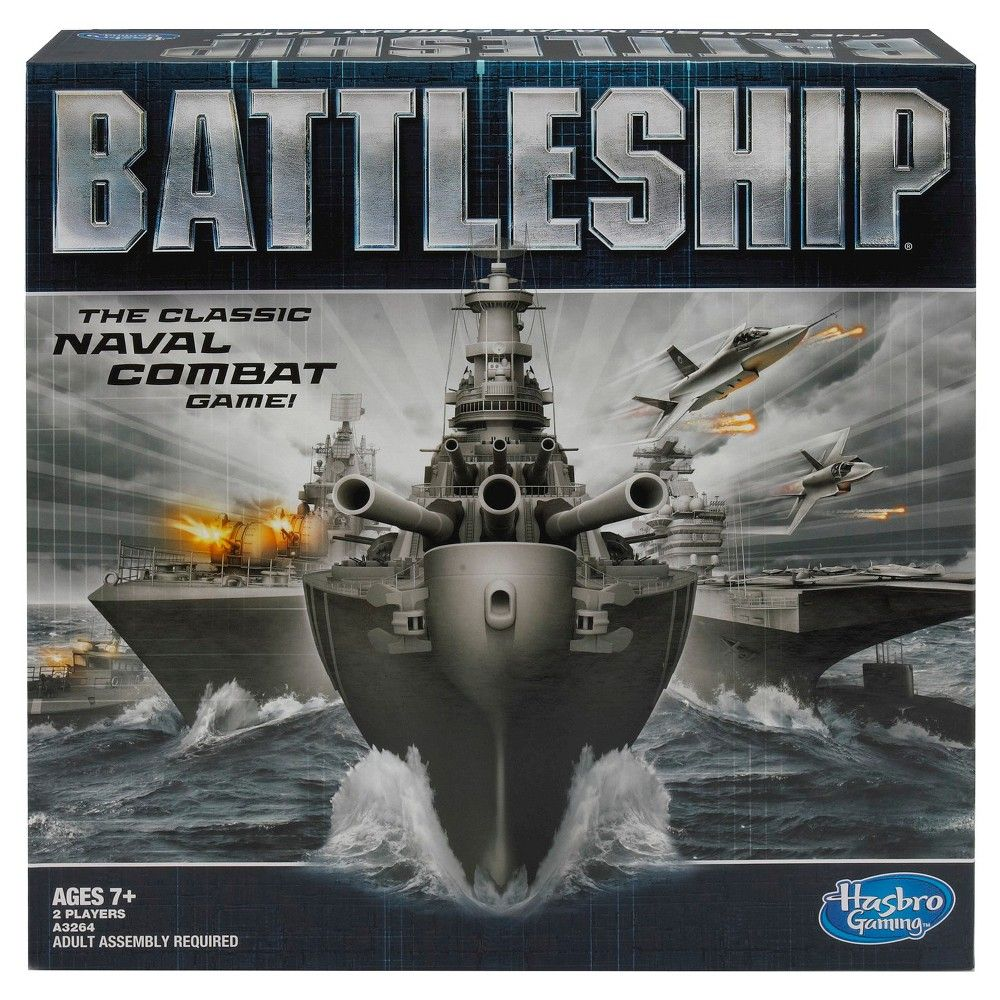 Battleship Naval Combat Board Game