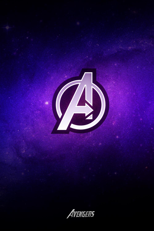 Avengers Logo Wallpaper Iphone In 2020 Avengers Wallpaper Iphone Wallpaper Images Logo Wallpaper Hd