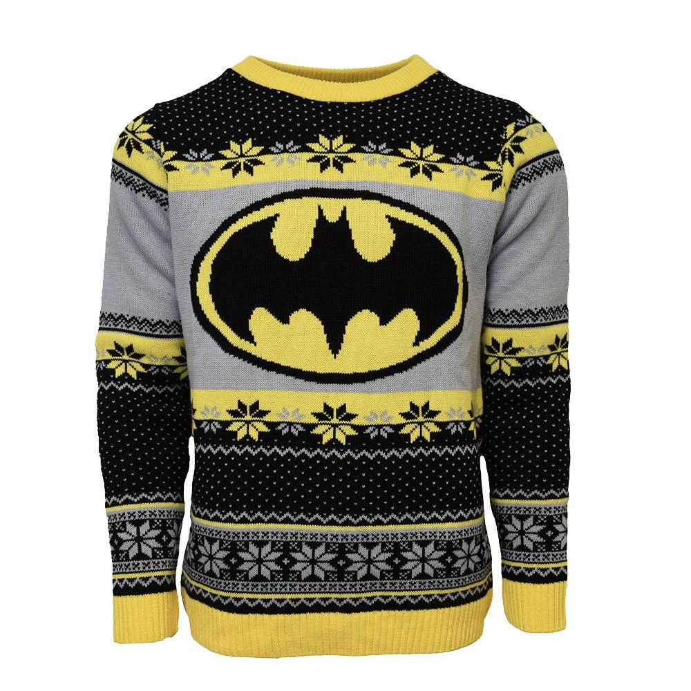 DC Comics Homme Batman Logo Sweat-shirt