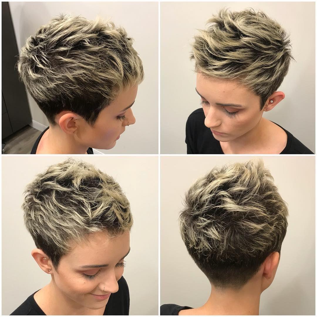 45++ Fine hair choppy pixie cut inspirations