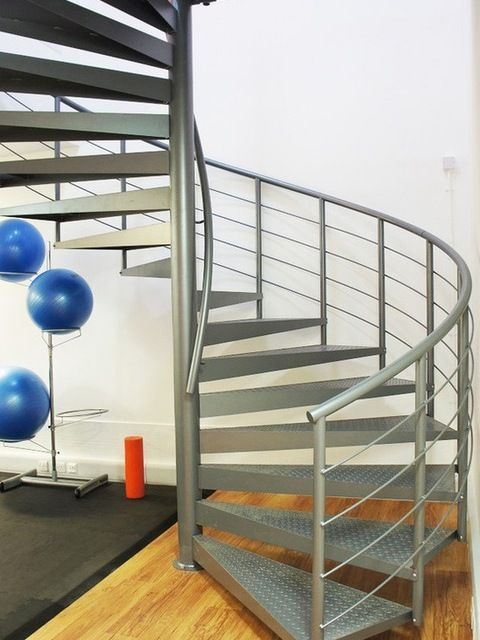 Source Outdoor Metal Spiral Stairs With Stainless Steel Handrails Small Stair On M Alibaba