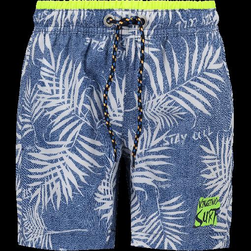 22a02c9f19 Front view   swimwear in 2019   Mens fashion, Bermuda Shorts, Blue denim