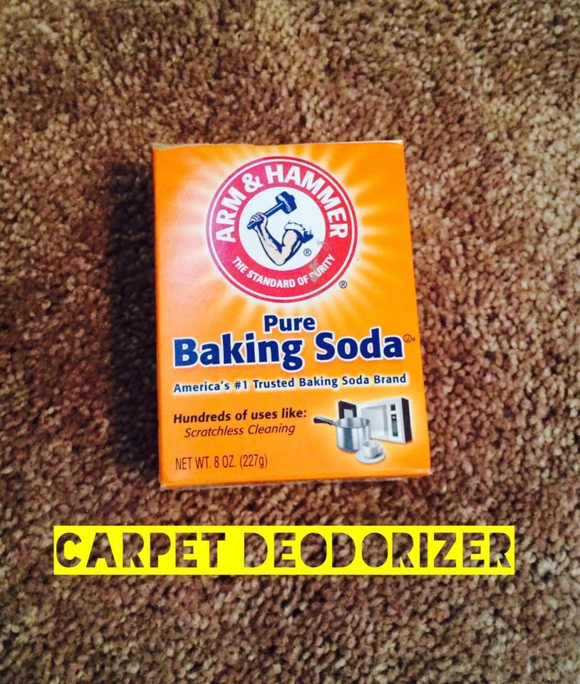 Easy Carpet Deodorizer!