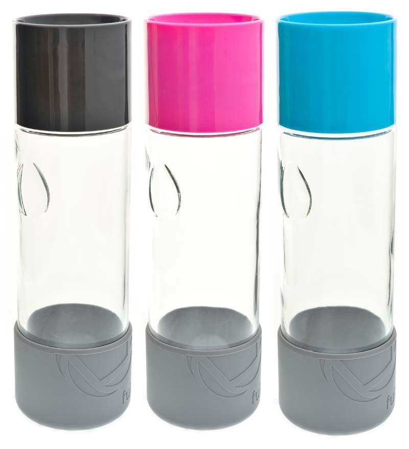 Full Circle Day Tripper Glass Water Bottle, 19 oz. These ... Full Glass Of Water Ounces