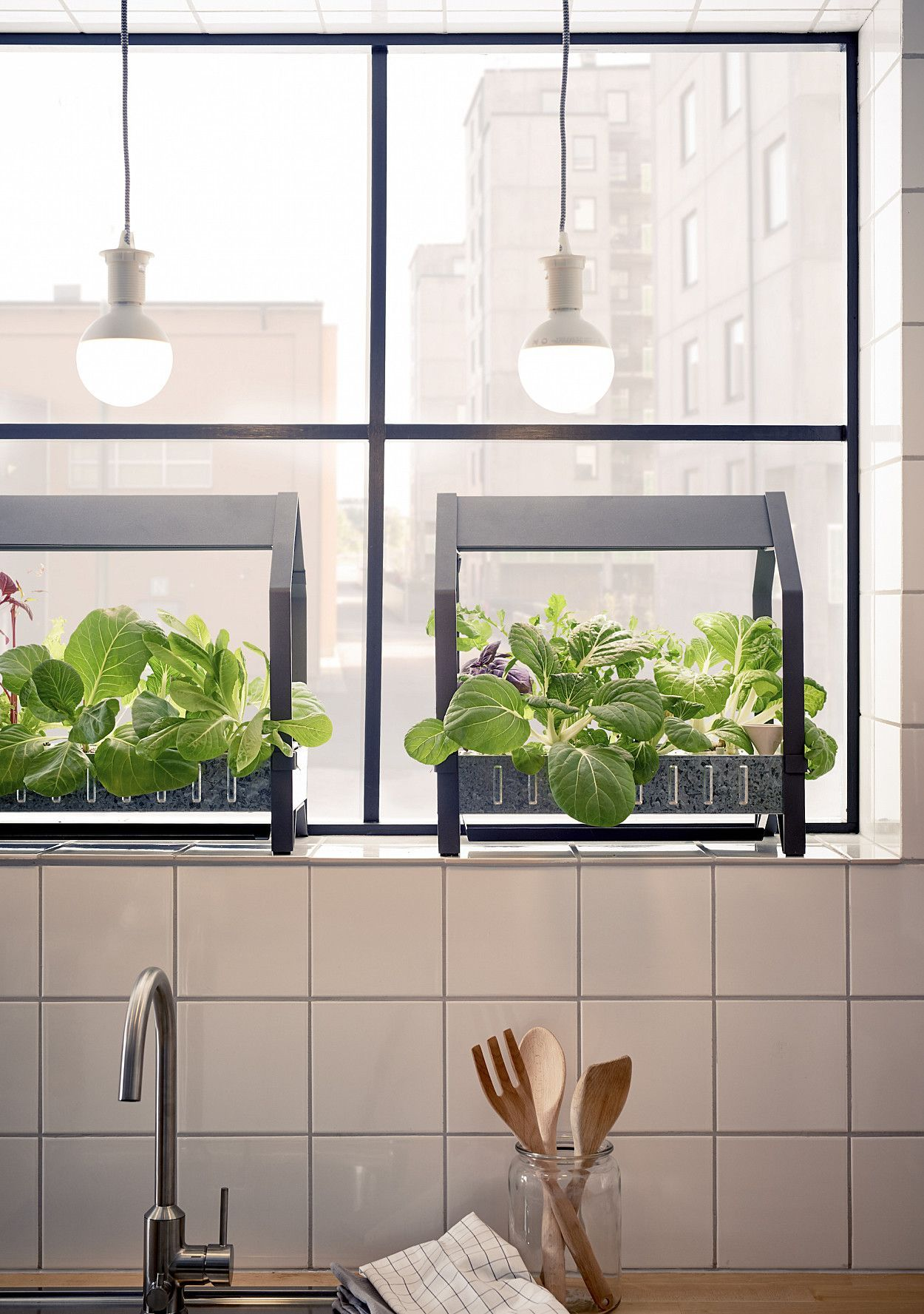ikea is taking indoor gardening to the next level with its cool new hydroponic gardening kits - Ikea Indoor Garden