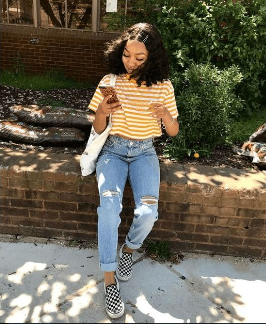 Checkered Vests  30 Ways to Wear Vans is part of Outfits -