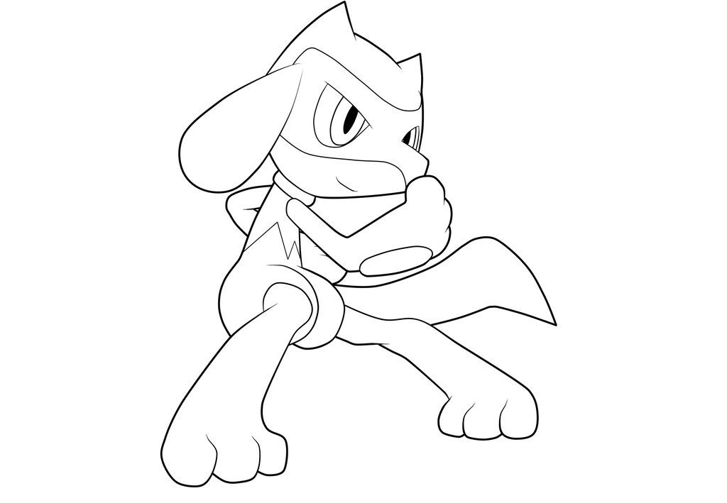 Riolu Lineart By Moxie2d On Deviantart Pokemon Coloring