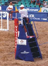 Sand Volleyball Court Referree Stand Construction Google Search Sand Volleyball Court Beach Volleyball Court Volleyball