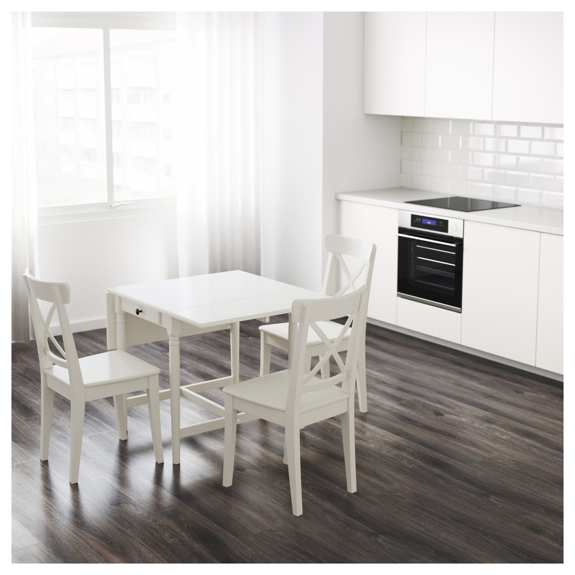 Table Ingatorp Ikea Ikea Ingatorp Drop Leaf Table White Country Club