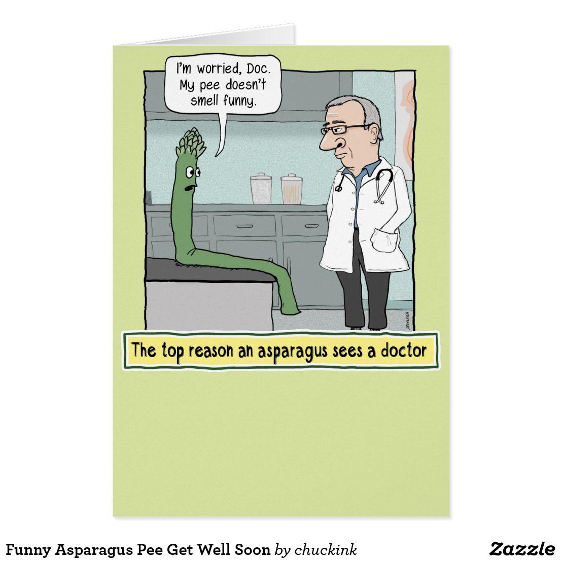 Funny asparagus pee get well soon card asparagus funny asparagus pee get well soon card kristyandbryce Choice Image