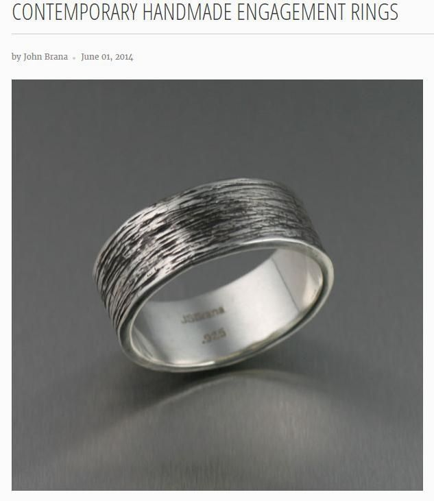 Brief article on Contemporary Handmade Engagement Rings Offered on #JohnSBrana #WeddingBands https://www.johnsbrana.com/blogs/news/92340294-contemporary-handmade-engagement-rings