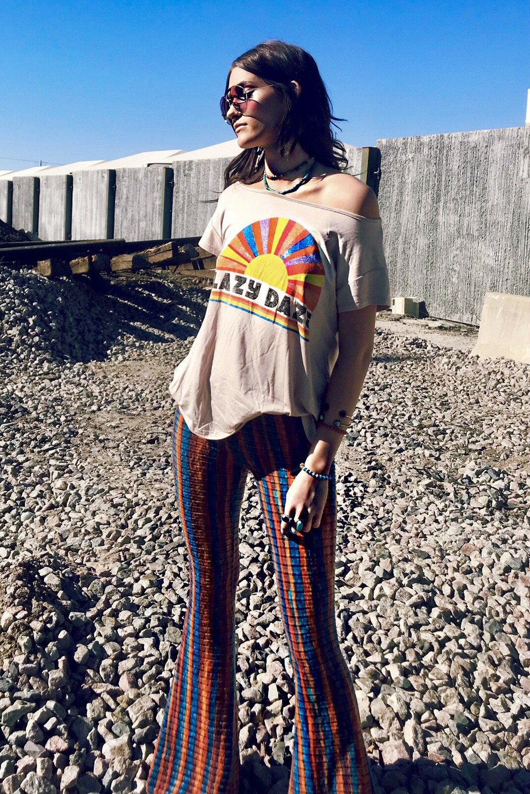 Cute Hippie Outfits 70s